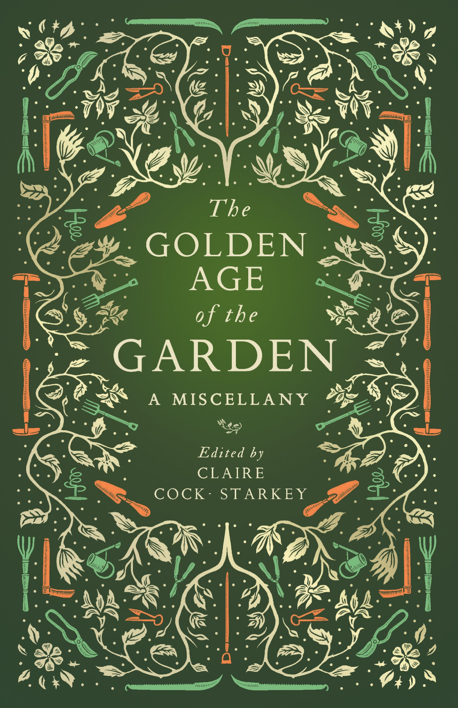 Book cover design for The Golden Age of Gardening by Claire Cock-Starkey