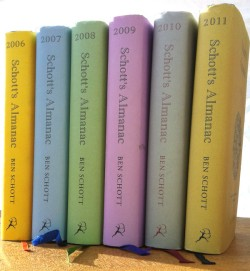 The Schott's Almanac series