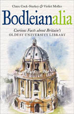 Bookcover design for Bodleianalia by Claire Cock-Starkey