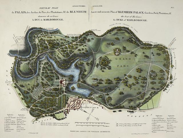 Blenheim_1835_L'Art de Créer les Jardins,