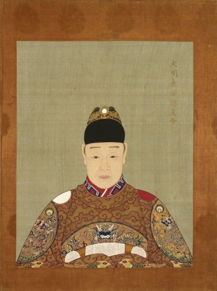 Painting of Tianqui Emperor
