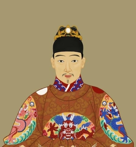 Painting of the Chongzhen Emperor