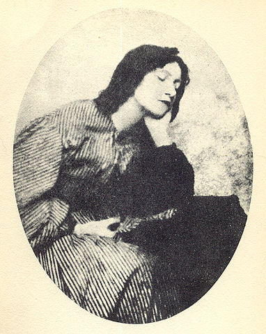 Photograph of Elizabeth Siddal c.1860