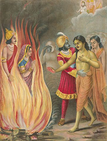364px-Sita's_ordeal_by_fire_(cropped)