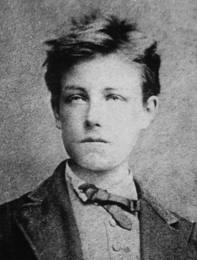 Photograph of Rimbaud, aged 17, by Étienne Carjat, probably taken in December 1871